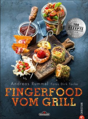 "NAPOLEON® Grillbuch ""Fingerfood vom Grill"""