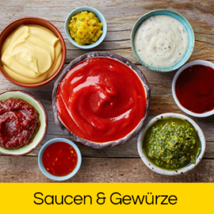 Saucen & Gewürze